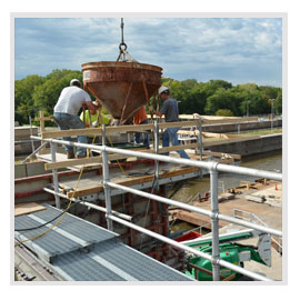Water-Based Concrete Construction and Repair Services