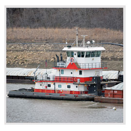 Inland Harbor Services, Brennan Marine, Barge Transportation, Fleeting and Switching, Mississippi River