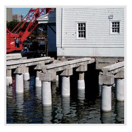 Concrete Pile Jackets Repairs By J F Brennan