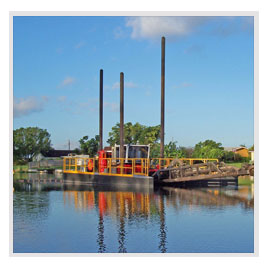 Environmental Dredging, Hydraulic Dredging, Surgical Dredging, Environmental Remediation