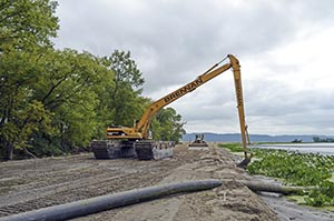 Amphibious Equipment, Environmental Dredging, Wetland Remediation, Marshland Restoration, Habitat Restoration