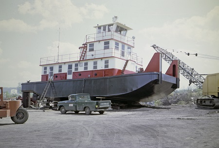 1968 Launch of the James Brennan