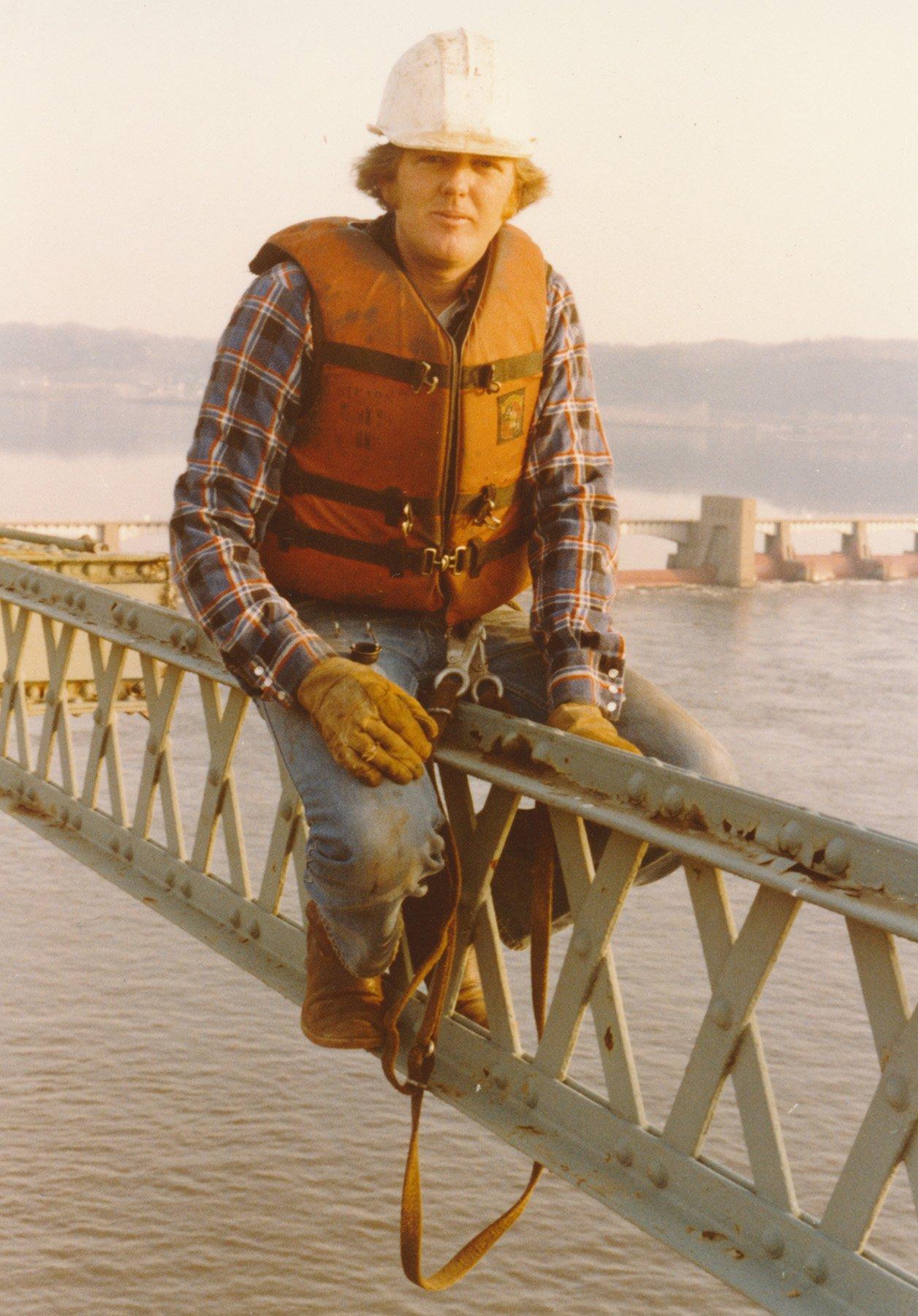 1983-1984 Eagle Point RR Bridge Removal_Jim ONeill