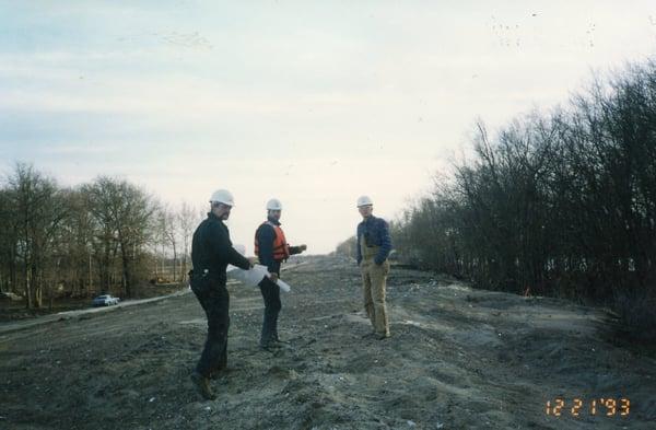 1993 Missouri Flood Project003_Roger Mohn, Vic Buhr, Ken Manning