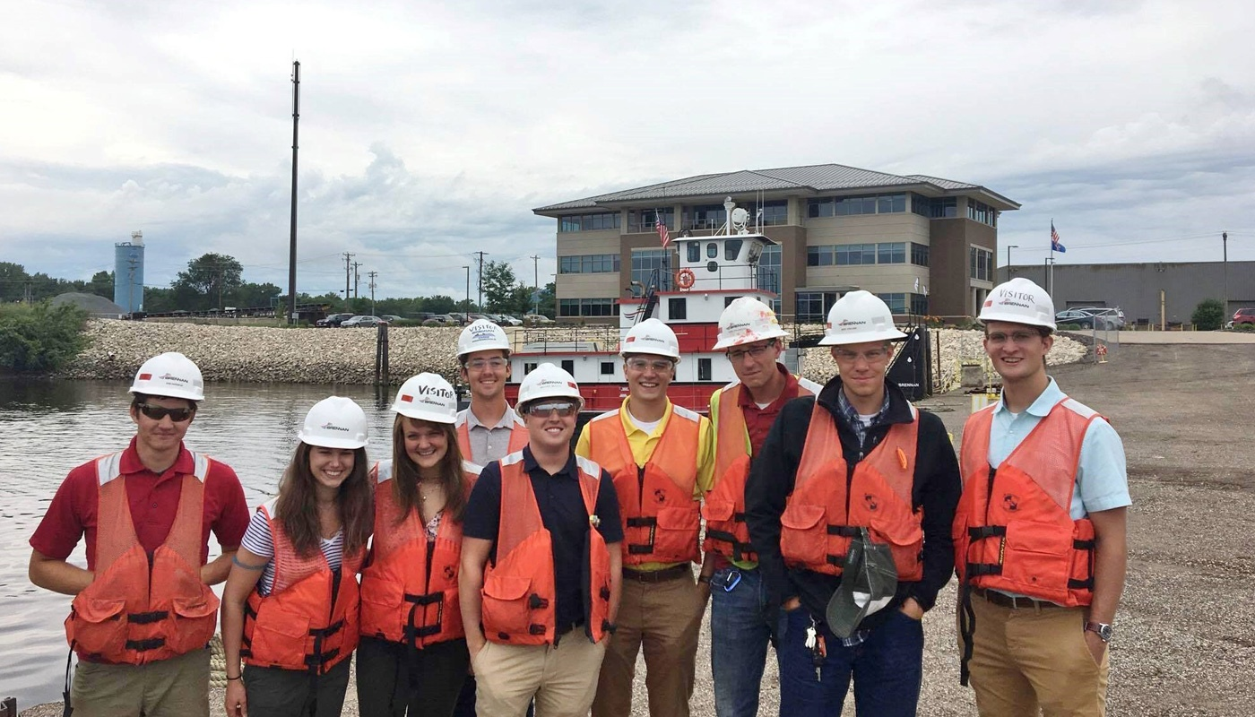 J.F. Brennan interns take part in practical, hands-on experiences that offer professional development in your area of study.