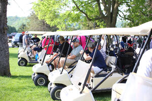 J.F. Brennan provides opportunities for employee engagement such as golf outings.