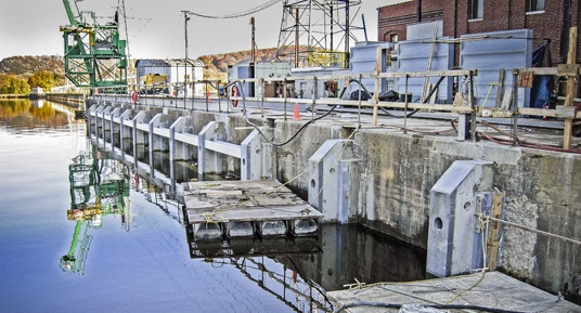 dam construction, dam repairs, precast concrete repairs, fish protection, hydroelectric dams, dam contractors