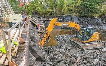 dam repairs, dam construction, intakes and headworks, gate repairs