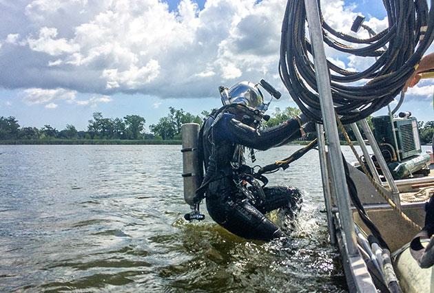 dive inspections, dam inspections, FERC Part 12 Inspections, underwater inspections, dive contractor, commercial diving, dam diving