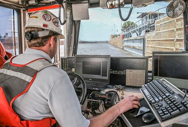 side scan sonar, underwater inspections, underwater dam inspections, underwater acoustic imaging
