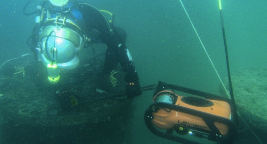 ROV inspections, dam inspections, underwater inspections, dive inspections, FERC Part 12 inspections