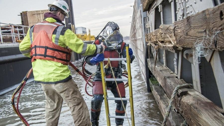 Dive Services, Underwater construction, dive inspections