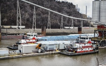 switching and fleeting, barge transportation, inland river services, inland waterways, terminal operation, harbor management