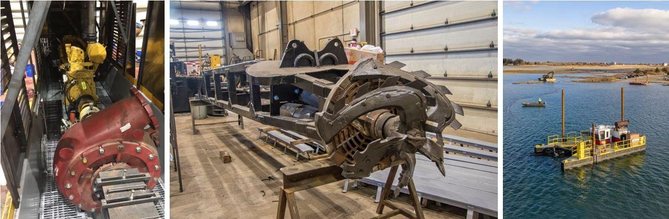 Brennan dredge rebuild, cutter head and fleet