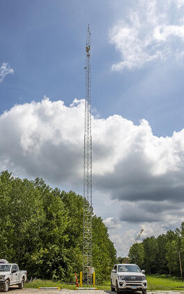 Wireless internet access on Illinois River by Brennan and partners