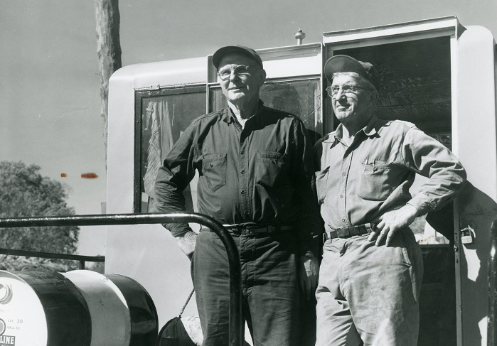 1955-1956 Wennishiek Slough Project_Gene and Jim Brennan