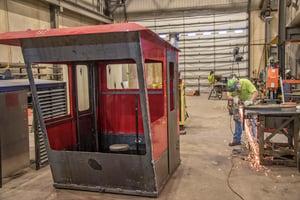 dredge lever room and custom welding