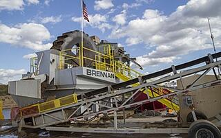 dewatering, hydraulic dredging, sand wheel, island unloading, Mississippi River dredging, marine construction