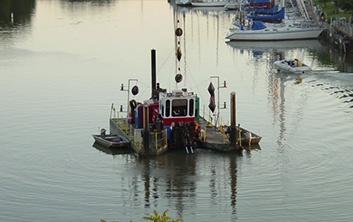 dredging, hydraulic dredging, navigational dredging, river dredging, harbor deepening