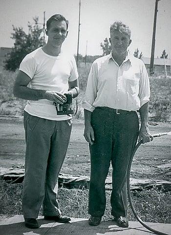 Mid 1950s Roger Binsfeld and Jim Brennan