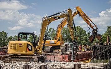 bridge demolition, railroad bridge demolition, demolition services