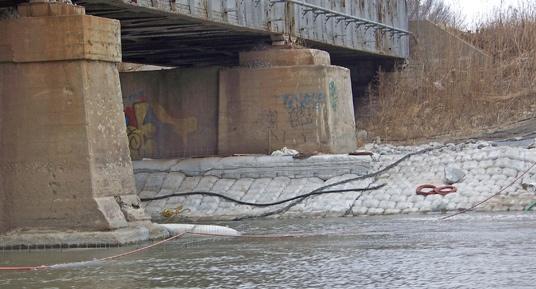 railroad bridge construction, railroad bridge repairs, scour repairs, erosion repairs, scour and erosion, bridge scour and erosion repairs