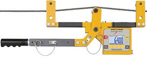 An example of a tension meter
