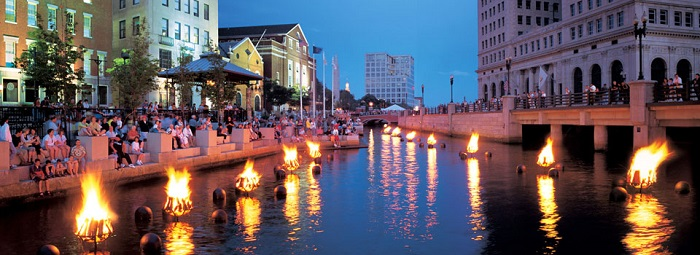 Waterfire Events in Providence Rhode Island, courtesy of Waterfire Providence