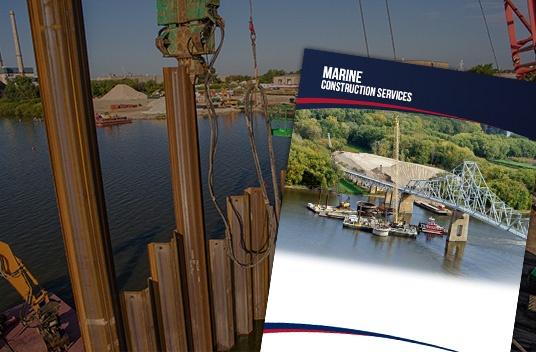 marine construction, brennan, bridge construction