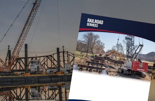railroad construction services, railroad construction