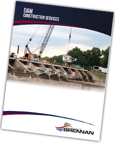dive inspections, dam construction services, brennan