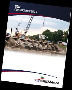 dam construction services, underwater inspections, brennan