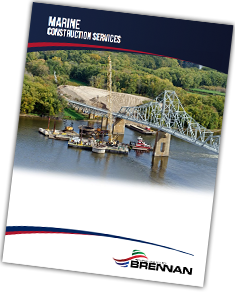 marine construction brochure, brennan