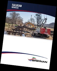 railroad construction services, railroad services, brennan