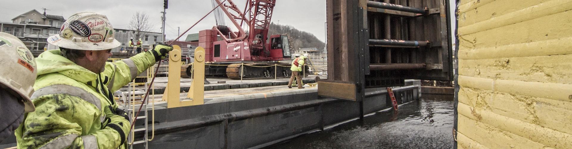 marine construction careers, dam construction careers, brennan