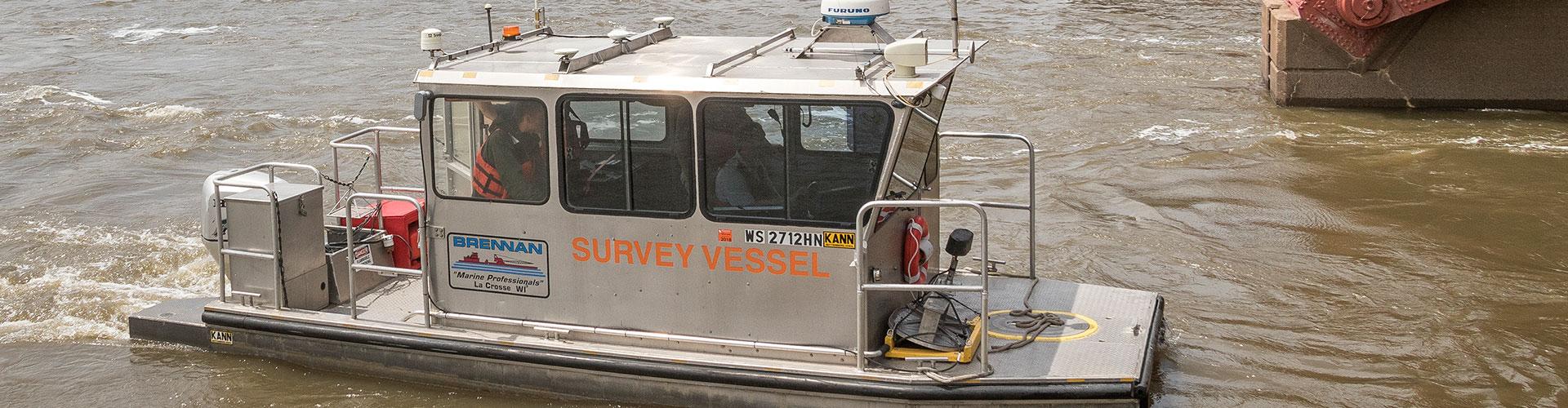 dam inspections, hydrographic survey, multibeam survey, underwater survey, bathymetric survey, dam surveys