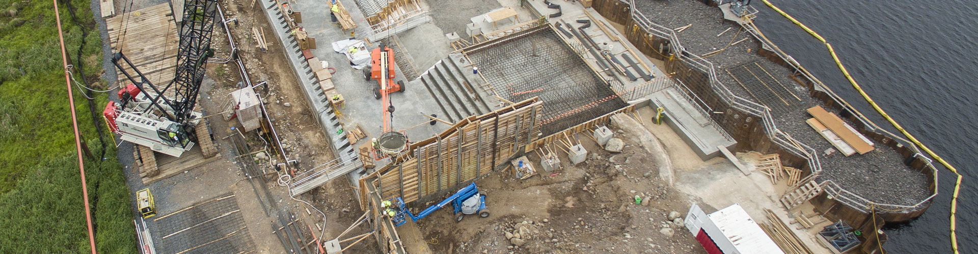 dam construction, labrynth weirs, cellular cofferdams