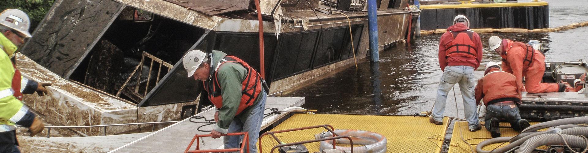 salvage, salvage divers, underwater salvage, dive contractor