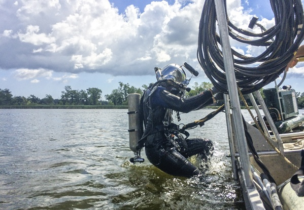 underwater inspections, underwater construction, underwater services, dive contractor, commercial diving, dive inspections
