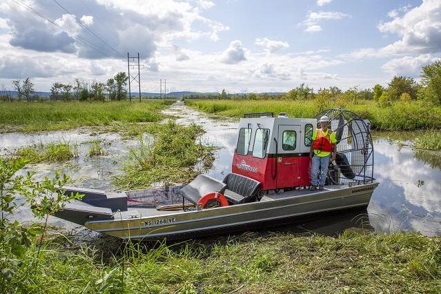 Nelson Wisconsin Xcel Project 2019_Dick Wateman Airboat