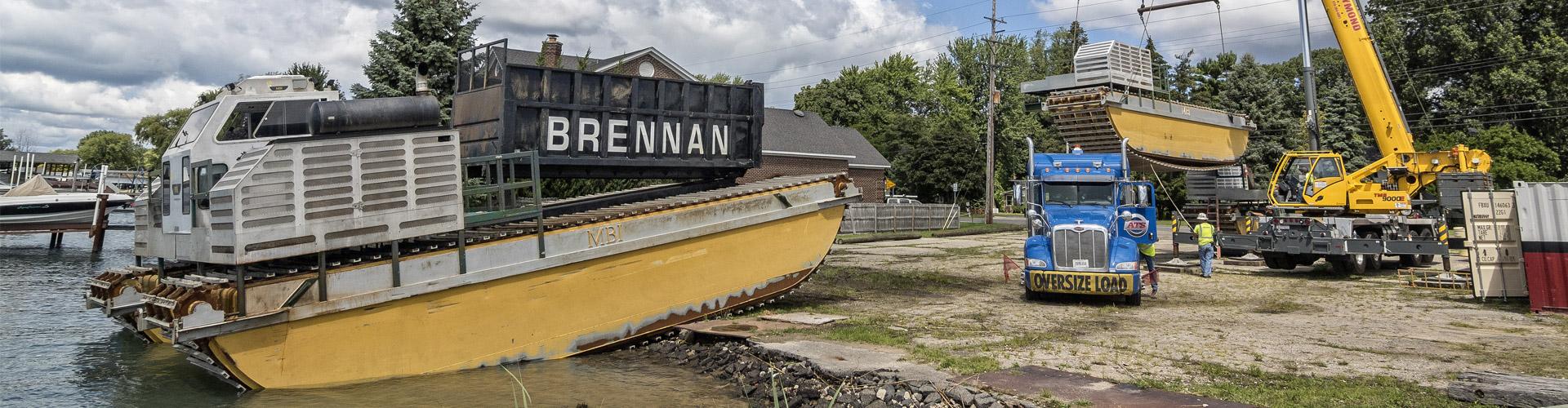 amphibious equipment, environmental remediation, remedial dredging