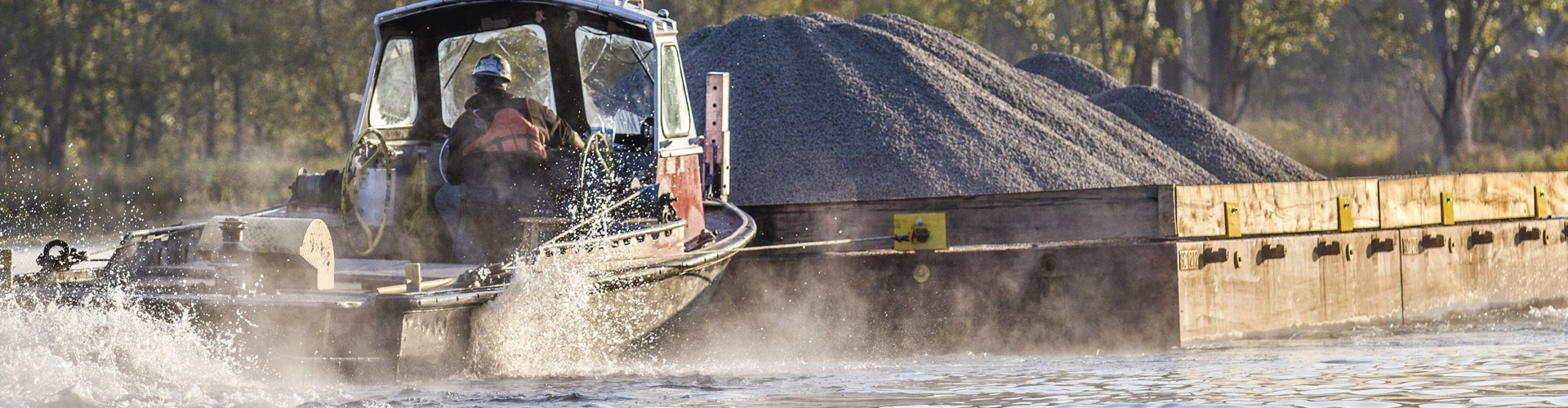 material transport, barge transport, environmental dredging, mechanical dredging, remedial dredging