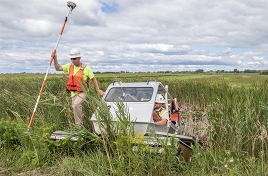 environmental careers, wetland restoration, marsh restoration, environmental cleanup