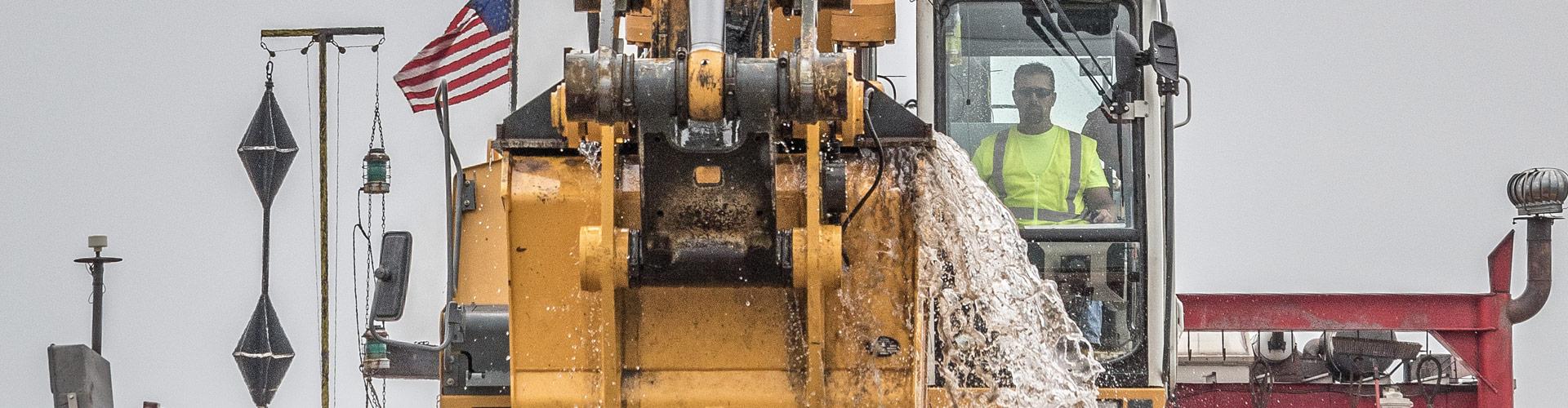 Environmental Dredging, Mechanical Dredging, Environmental Remediation, Environmental Cleanup