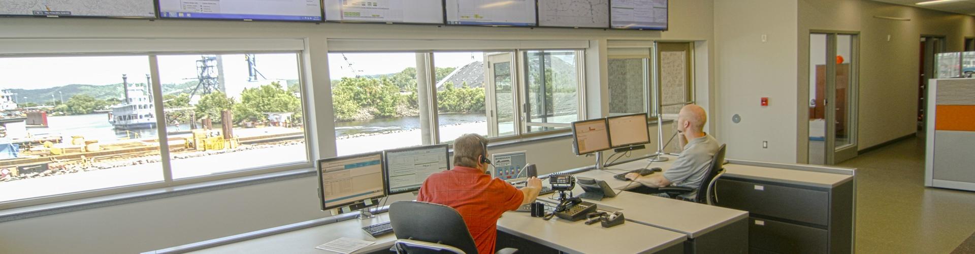 harbor management service, marine assists, towboat assists, lock assists, railroad bridge assists, lock and dam 8 assists, lock and dam 7 assists, barge assists, carrier assists