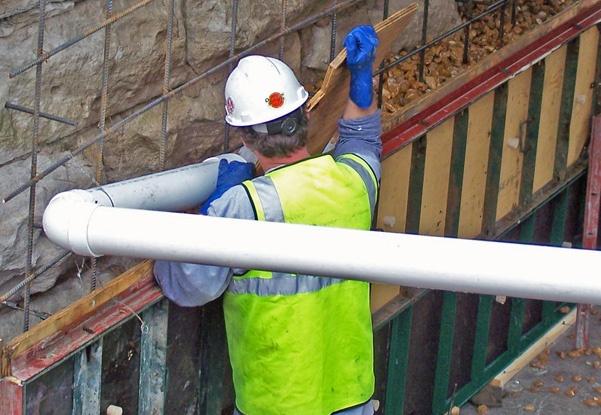 preplaced aggregate concrete, pier repairs, bridge repairs, bridge pier repairs, underwater pier repair, pac concrete placement