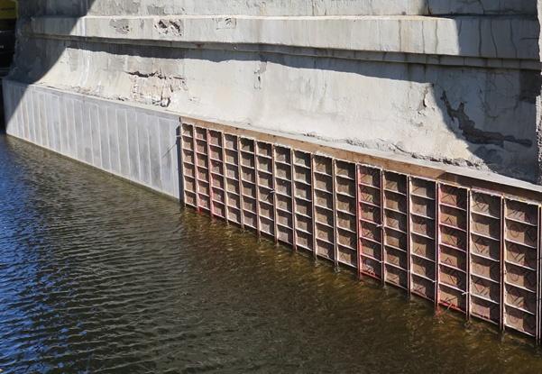 pier repairs, bridge pier repairs, abutment repairs, concrete repairs, underwater construction, underwater pier repairs
