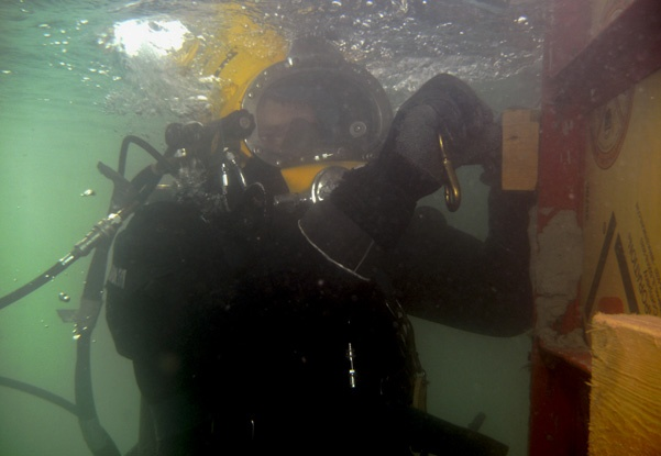 grouting, grouting repairs, pier consolidation, bridge pier repairs, underwater construction, underwater bridge repairs