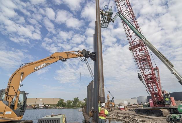 Deep Foundations & Pile Driving | J F  Brennan Company