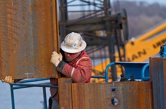 marine construction career, pile driving, bridge construction, bridge repairs
